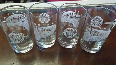 4 Etched Three Floyds Brewing Beer 4oz Tapper Glasses Burnham Pilsener Chicago