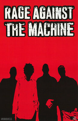 Lot Of 2 Posters:music: Rage Against The Machine - Red & Black    #6198   Lp38 M