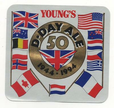 Beer Label / S - Uk -  D - Day 50Yrs