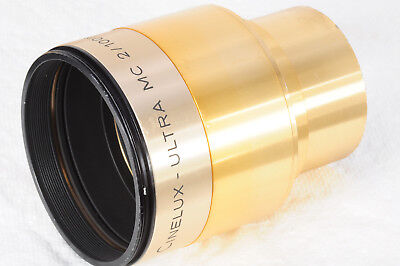 Isco Cinelux Ultra MC 100mm f/2 Projection Lens Very good w issues 150