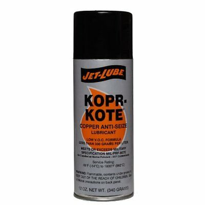 Copper Industrial Anti-Seize Thread Lubricant 1/4 lbs Brush Top Low Friction USA