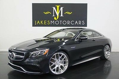 2015 Mercedes-Benz S-Class S63 AMG DESIGNO Coupe ($178K MSRP) 2015 MERCEDES S63 AMG COUPE~DESIGNO~$178K MSRP~ONLY 6K MILES~4 YEARS OF WARRANTY