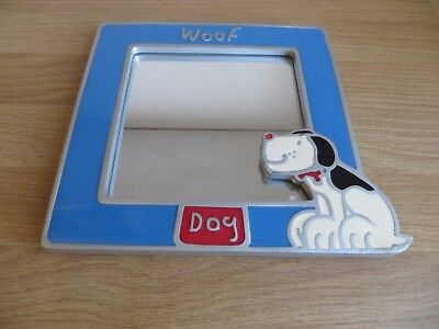 Woof Dog Stand up Mirror in Good Condition. Freepost.