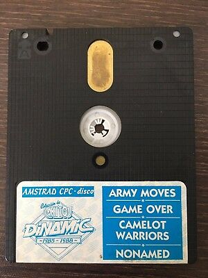 Amstrad Cpc Dinamic, Army Moves, Game Over, Abu Simbel y + Spanish RARE!!!