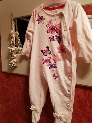 Baby Girls Ted Baker Jewel Sleepsuit Babygrow immaculate 3-6 month