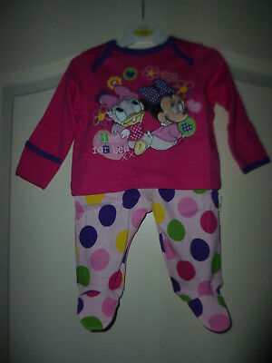 """Disney at George zauberhaftes 2tlg Outfit """"BabyMinnie Mouse&Daisy"""" Gr:0-3 Mon"""