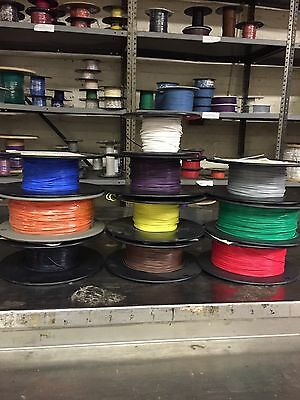 M16878/4 Type E 22 AWG 19/34 Silver Plated CU PTFE Many Colors, 10' ANY COLOR