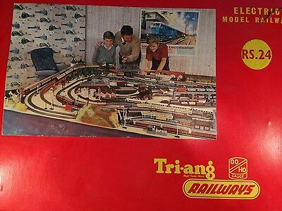 Classic Hornby Triang Train Set, Vintage Train Track, Classic Hornby Track