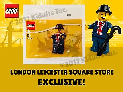 LEGO® Lester Minifigure 40308 Leicester Square Store Exclusive Polybag