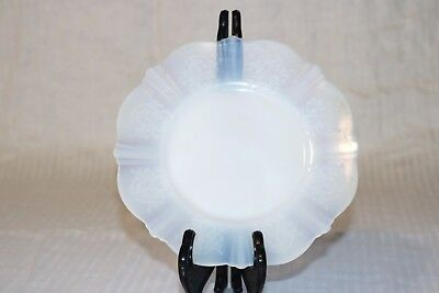 "MacBeth-Evans AMERICAN SWEETHEART Monax White 6 3/8"" Bread & Butter Plates (2)"