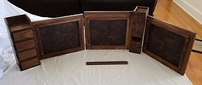 Walnut Game Master Screen System RPG Dungeons and Dragons Pathfinder Magnetic