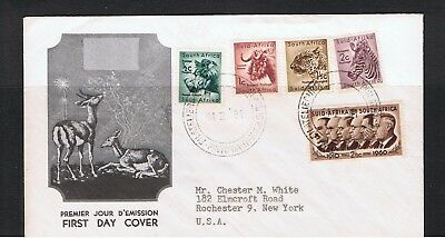 South Africa  -  1961  Illustrated First Day Cover - New Currency