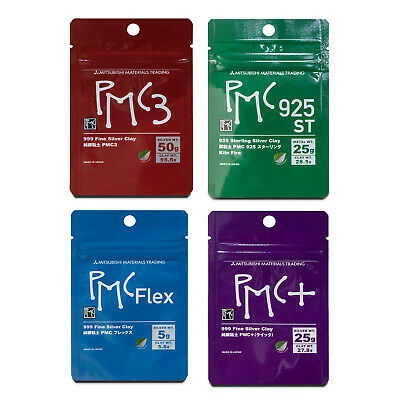 PMC3 / PMC Flex / Onefire Sterling / Plus + Widest Range of Precious Metal Clay