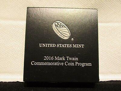 2016-P $1 Mark Twain proof silver
