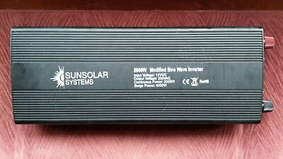 Sunsolar 2000w sine wave inverter