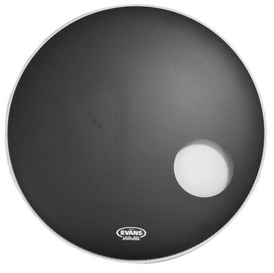 Evans Onyx Resonant Bass Drum Head, 22 Inch