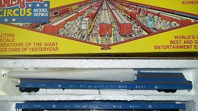 HO Scale Walthers The Great american circus. Flat cars