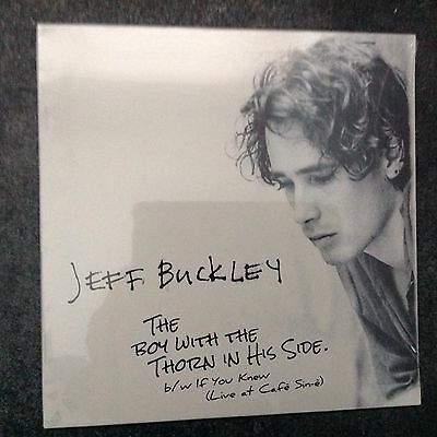 "Jeff Buckley The Boy With A Thorn In His Side 7"" Vinyl New/Sealed"