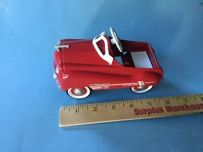 Hallmark Kiddie Car Classic 1955  Murray Red Champion Diecast Model Pedal Car