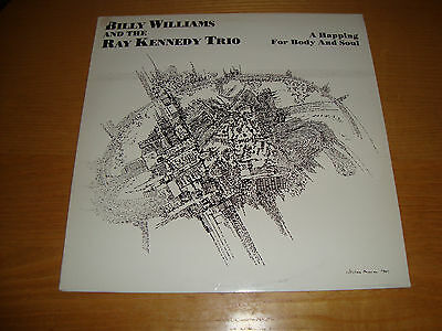 Billy Williams And The Ray Kennedy Trio - A Happing For Body And Soul - Lp 1983