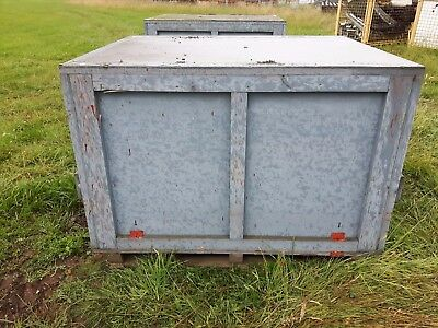 Dantherm VAM 40 Diesel Space Heater Shipping Crate Box Stillages