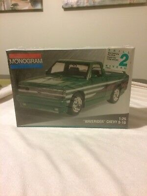 Sealed 1:25 Monogram Waverider Chevy S10 Model Kit New