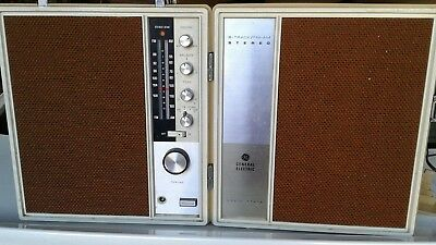 General Electric 8-Track Fm Am Stereo Works Great