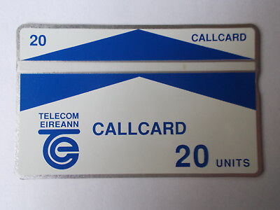 Galway trial 20 units mint callcard
