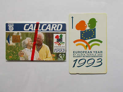 European Year of older people mint callcard