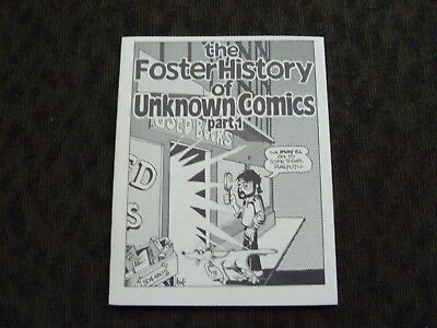 The Foster History of Unknown Comics 1 Mini Underground Comix 1981 Jabberwocky