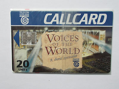 Voices of the world  mint callcard