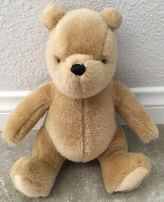Vtg Classic Winnie The Pooh Plush Stuffed Animal Bear GUND Nursery Decor Disney