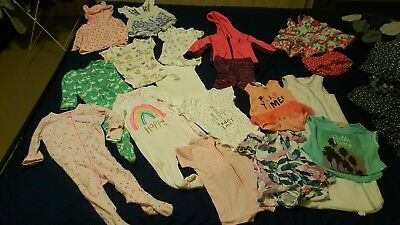 BULK lot baby girl size 0 6-12months winter summer brand clothes as new
