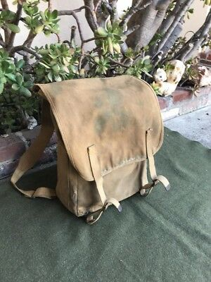 WWI U.S. Army 1918  L.C.C.& Co. Haversack,Backpack,Canvas