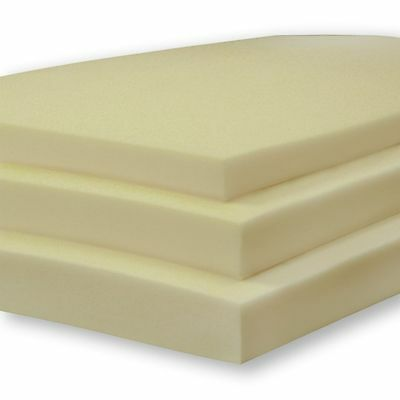 High Density Firm Upholstery Foam - CUT TO SIZE - Any Size Available