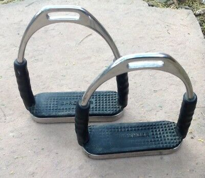 """HERM SPRENGER 4-F Flexible Stirrups Stainless Steel- 5"""" Size -Great deal!!!"""
