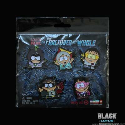 South Park The Fractured But Whole Pin Set Ubisoft (PS4 XBOX) Kyle Cartman Kenny
