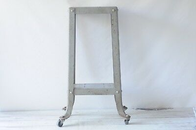 Industrial Iron Table Base Vintage Homecraft Planer Joiner Power Tool Stand