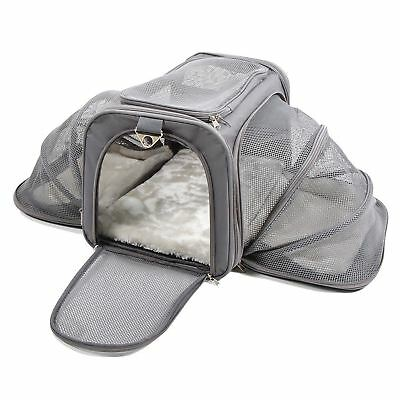 Jet Sitter Luxury Expandable Pet Carrier V2 - Airline Approved, Improved...