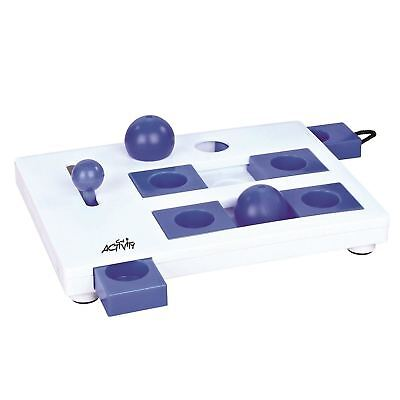 Trixie Pet Products Brain Mover, Blue/White