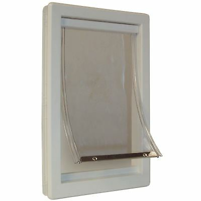 Perfect Pet Medium Soft Flap Cat Door with Telescoping Frame, 7-Inch by...