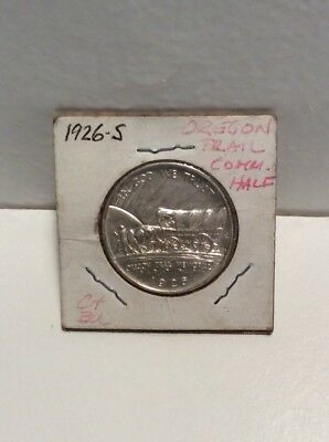1926-S Uncirculated Oregon Trail Commemorative Half Dollar - Estate Collection