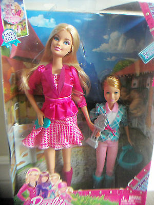 Barbie & Stacie; Barbie & Her Sisters In A Pony Tale NEW Gift-set Mattel NRFB