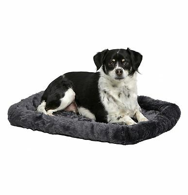 Midwest Quiet Time Pet Bed, 24-Inch x 18-Inch (Gray)