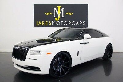 2014 Rolls-Royce Wraith ($365K MSRP)...SPECIAL ORDERED CAR! ROLLS ROYCE WRAITH, $365,175 MSRP! FACTORY TWO-TONE, ONE-OF-A-KIND! STARLIGHT!