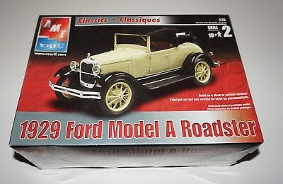 AMT 1929 Ford Model A Roadster 1/25 scale SEALED