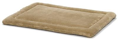 Midwest Quiet Time 23-By-18-Inch Micro Terry Deluxe Pet Bed (Taupe)