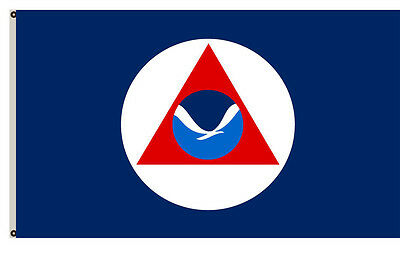 National Oceanic and Atmospheric Administration flag 3x5ft banner
