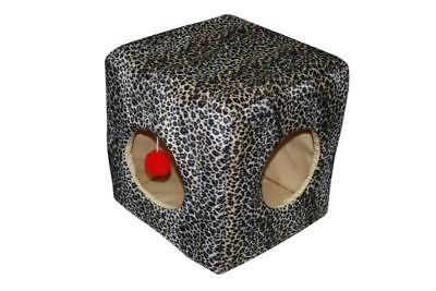 North American Pet Products Kitty Cube, Cheetah
