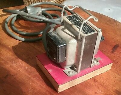 Vintage Australian Transformer Step Down - Soldering Iron  A & R Transformers